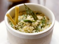 Spinach Risotto with Lemongrass recipe
