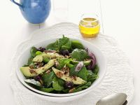 Spinach Salad with Avocado recipe