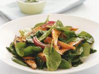 Spinach Salad with Cilantro Vinaigrette recipe