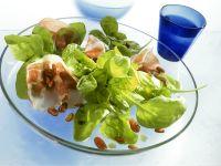 Spinach Salad with Italian Bacon recipe
