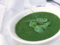 Spinach Soup with Herbs recipe