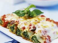 Spinach-stuffed Cannelloni recipe