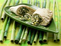 Spinach Stuffed Pockets recipe