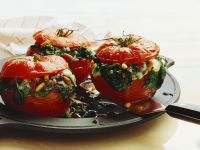 Spinach-Stuffed Tomatoes recipe
