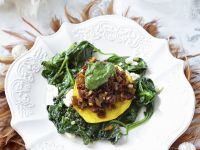 Spinach with Sun-Dried Tomatoes recipe