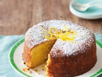 Sponge Cake with Citrus Fruit recipe