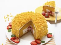 Sponge Cake with Italian Cream recipe