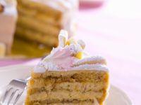 Sponge Cake with Marzipan recipe