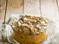 Sponge Cake with Meringue recipe