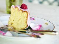Sponge Cake with Raspberry Rose Icing recipe