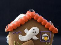 Spooky Ginger Cookie House recipe