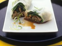 Asian Beef Wrappers recipe