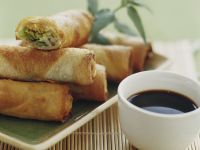 Spring Rolls with Soy Sauce recipe