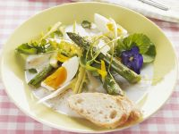 Spring Salad with Egg and Asparagus recipe