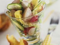 Spring Salad with Radishes and Cucumber recipe