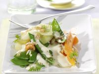 Spring Vegetables with Chilled Lime-yogurt recipe