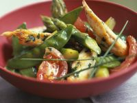 Springtime Chicken Saute recipe