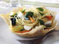 Springtime Spaghetti Bowls recipe