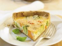 Sprout and Potato Egg Tart recipe