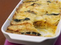 Squash and Potato Gratin recipe