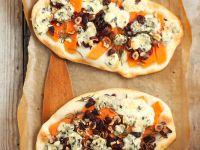 Squash, Hazelnut and Gorgonzola Flatbread recipe