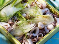 Squid Salad with Fennel recipe
