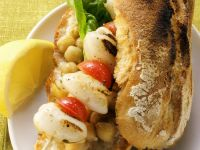 Squid Skewer Sandwich recipe