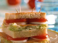 Stacked Ham Sandwich recipe