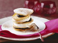 Stacked Sour Cream Pancakes recipe