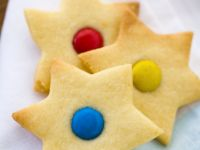 Star Biscuits with Buttons recipe
