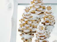Nutty Tree Stack Cookies recipe
