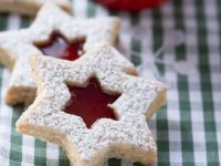 Star Cookies with Jam recipe
