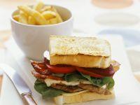 Steak and Bacon Sandwich recipe