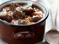 Steak and Red Wine Casserole recipe