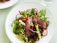 Steak and Scallion Salad recipe