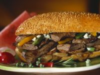Sliced Beef and Pepper Sub recipe