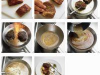 Steak with Green Peppercorn Sauce recipe