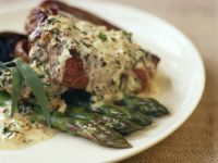 Steak with Herby Cream Sauce