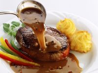 Steak with Pepper Sauce recipe