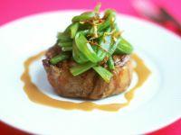 Steak with Scallions recipe