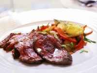 Sliced Beef with Mixed Veggies recipe
