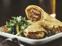 Steak Wraps with Guacamole recipe
