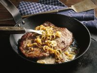 Gourmet Steak with Onions recipe