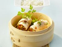 Steamed Asian Sea Bass recipe