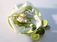 Steamed Cod with Lime recipe