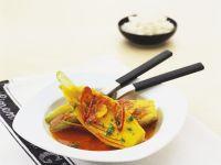 Steamed Fennel with Saffron and Blood Orange recipe
