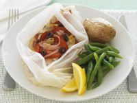 Steamed Fish Fillet with Vegetables recipe