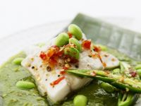Steamed Fish with Soybeans recipe