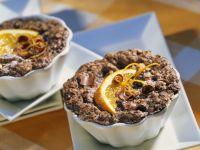 Steamed Mini Chocolate-Almond Cakes recipe