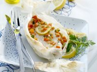 Steamed Turbot with Vegetables recipe